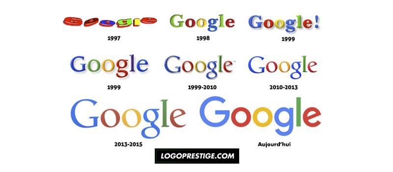 logo google évolution