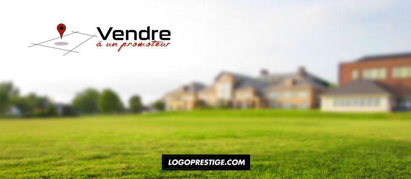 terrain maison logo identité visuelle luxe