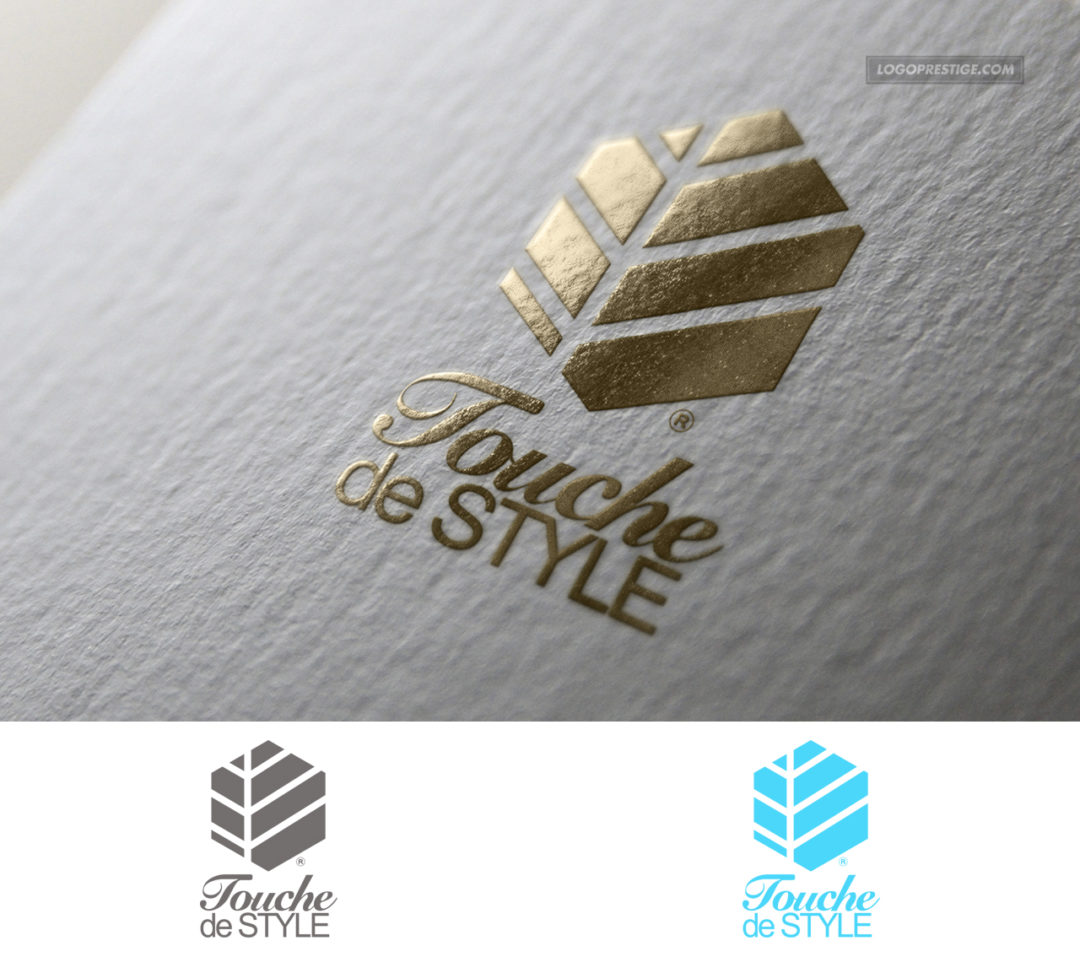 Création logo luxe Touche2style